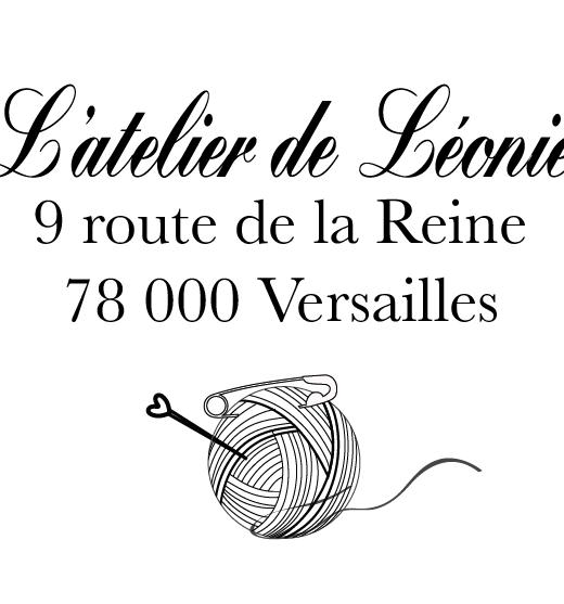 Tampon personnalisé Création couture