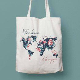 tote bag voyage