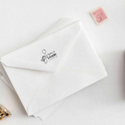 tampon enveloppes bapteme