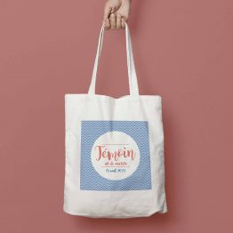 tote bag mariage personnalisable