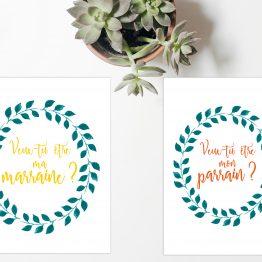 2 cartes postales Fleuries par la Papeterie de Paris