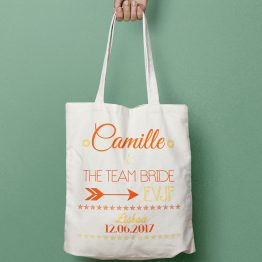 Tote bag EVJF Team Bride