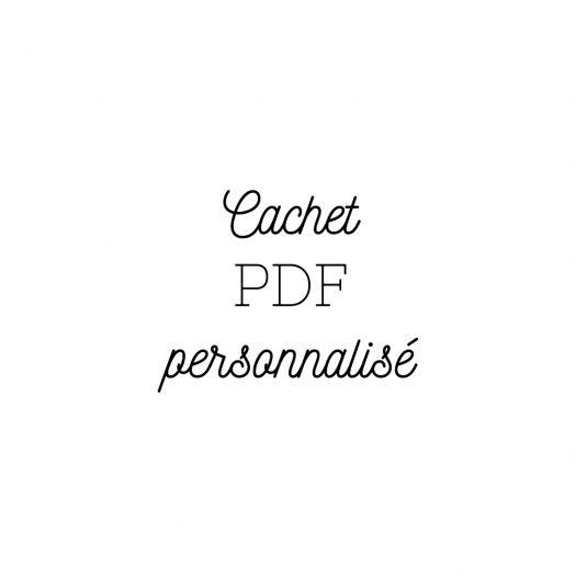 PDF personnalise