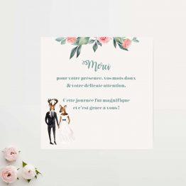 carton merci mariage