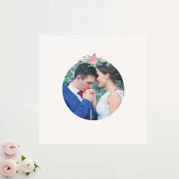 remerciement mariage photo