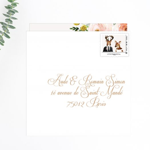 SAVE THE DATE MARIAGE CHAMPETRE PAR LA PAPETERIE DE PARIS