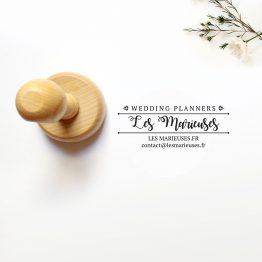 TAMPON ENCREUR WEDDING PLANNER PAR LA PAPETERIE DE PARIS