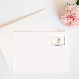 timbre lapin la poste