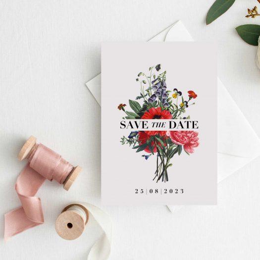 Save the date botanique