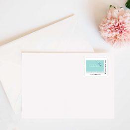 timbre personnalisé la poste