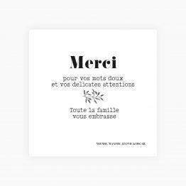 carte merci naissance