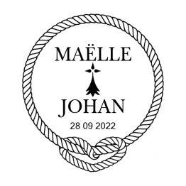 Tampon mariage marin