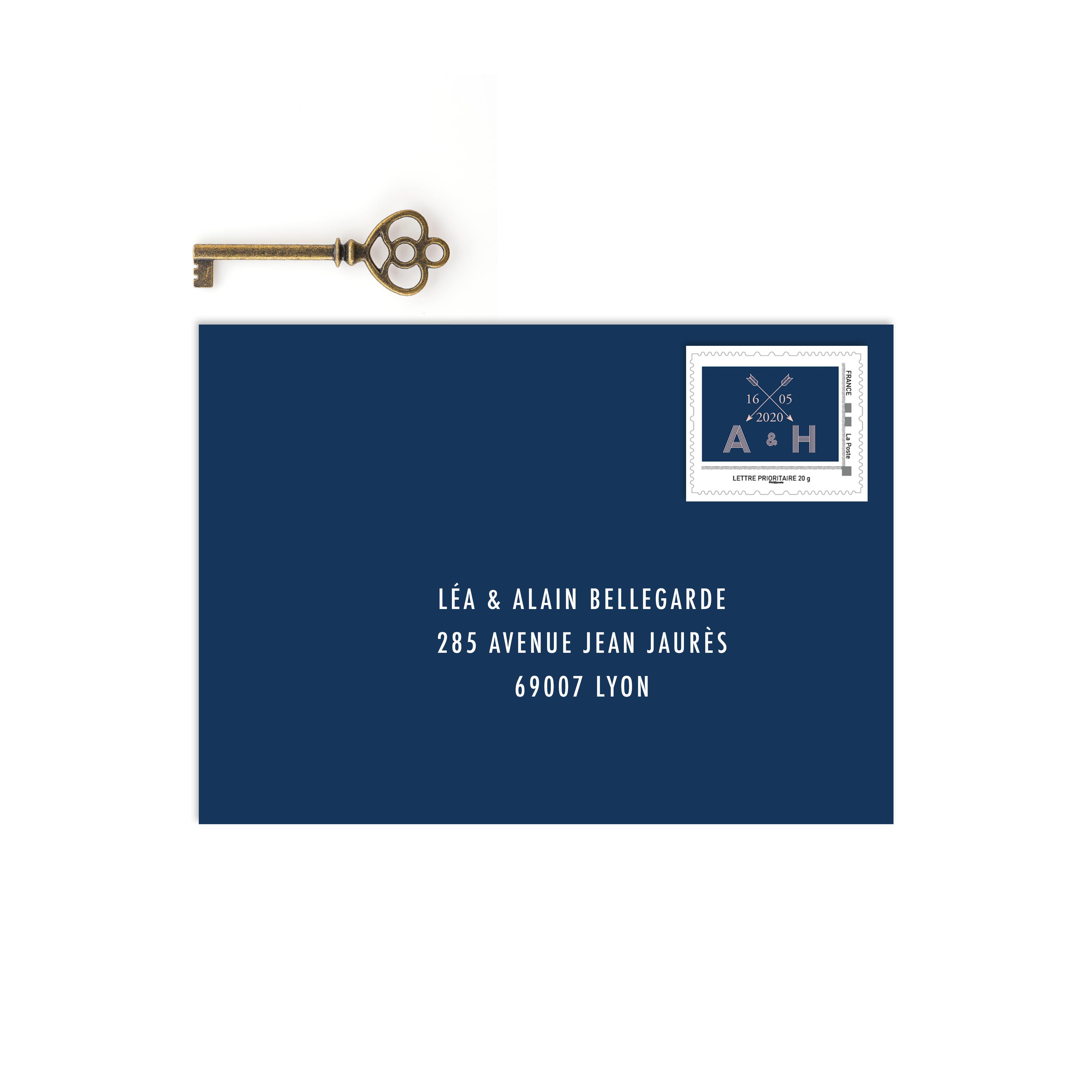 timbre personnalisé mariage I Do, timbre mariage La Poste, visuel timbre faire-part, timbre poste mariage, timbre mariage faire part, timbre prénoms mariés, timbre mariage cinéma - La Papeterie de Paris
