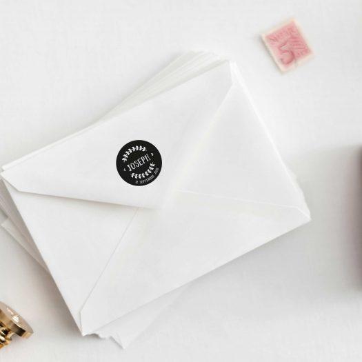 tampon enveloppe faire part