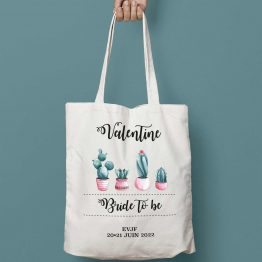 tote bag personnalisable EVJF