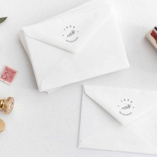 Tampon faire part enveloppe