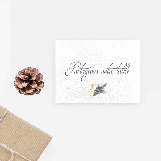 Invitation diner mariage
