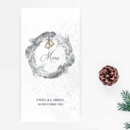menu mariage hiver