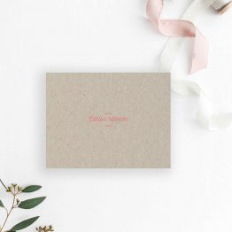 carton RSVP mariage champêtre