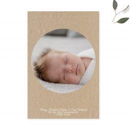 faire part naissance personnalisé