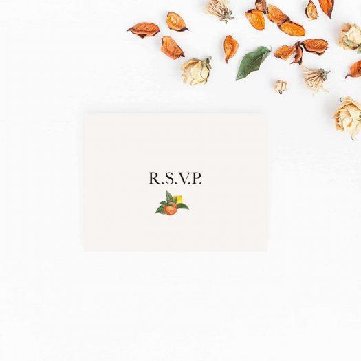 Carton RSVP mariage