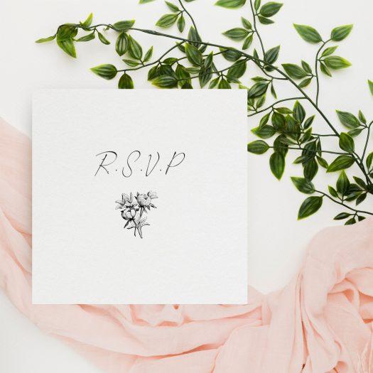 carton réponse invités mariage