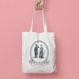 tote bag personnalisable mariage