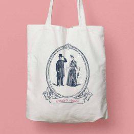 tote bag personnalisé mariage