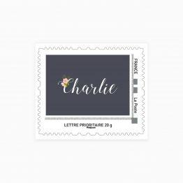 timbre faire part naissance
