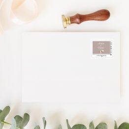 timbre la poste mariage