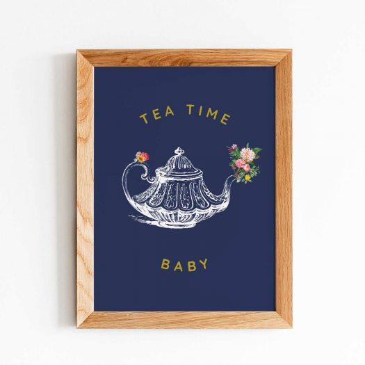 Affiche thé