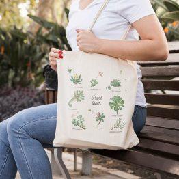 tote bag botanique
